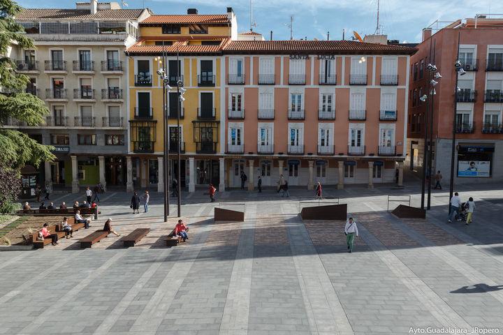 La Junta de Gobierno pondrá en marcha el próximo martes el procedimiento para la construcción en el gran solar de la Plaza Mayor de Guadalajara