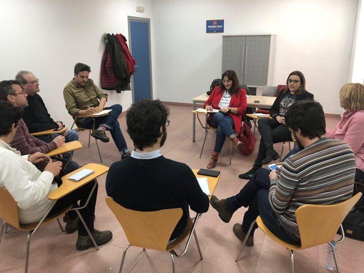 PODEMOS-CLM se reúne con GANEMOS Talavera y XTalavera.
