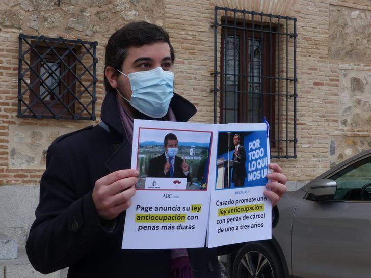 """García Gascón: """"Page está siguiendo palabra por palabra el programa electoral del PP en Castilla-La Mancha"""""""