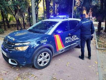 Detenidos in fraganti un hombre y una mujer como presuntos autores de un robo con violencia en Guadalajara