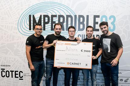 La Universidad Politécnica de Madrid, campeona nacional en la competición de coches autónomos a escala 'Autónomos Driving Challenge'
