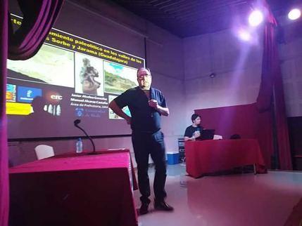 Los expertos subrayan el valor espeleológico y arqueológico de la comarca de Tamajón