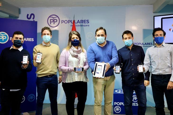 """Arranca en Guadalajara la campaña """"Populares Solidarios 2.0"""" de NNGG CLM"""