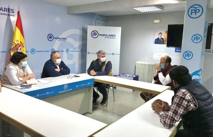 El PP promueve ayudas dirigidas a los ganaderos de reses bravas de la provincia de Guadalajara