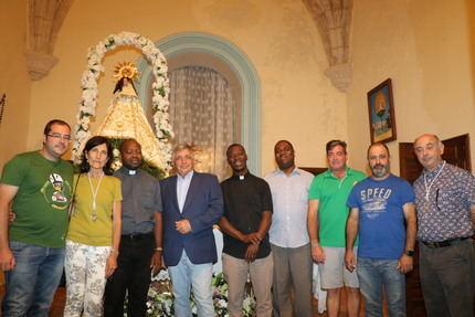 Los paleontólogos Fernando Barroso y Manuel Segura pregonan las fiestas de Tamajón