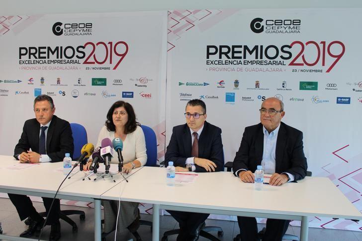 Finca Río Negro, empresa del año de los Premos Excelencia Empresarial 2019 de CEOE-CEPYME Guadalajara