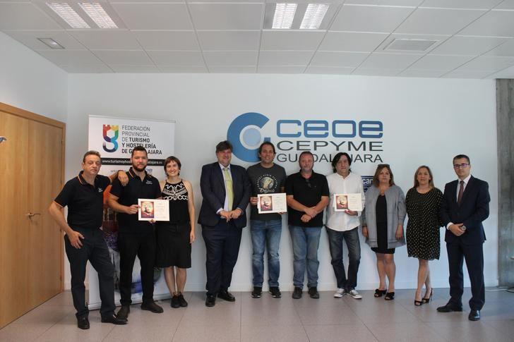 Entregados los Premios del Maratón de Pinchos de la Federación de Turismo de Guadalajara