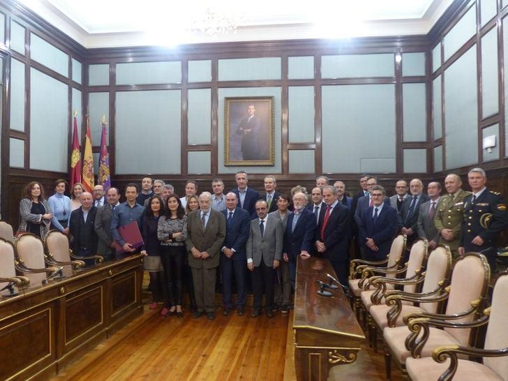 El presidente de la Diputación de Guadalajara entrega los Premios Provincia y Río Ungría y Henares 2018