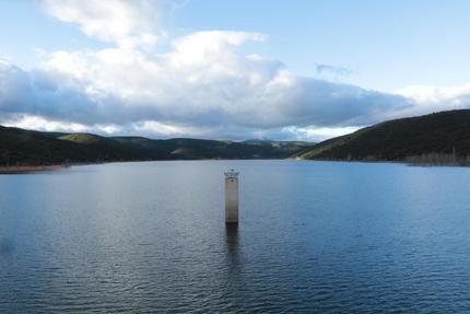 Desde el 15 de enero, la Sierra Norte ha desembalsado 260 Hm³ de un preciado bien, como es el agua