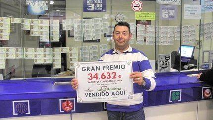 La Primitiva deja un premio de más de 34.000 euros en Azuqueca