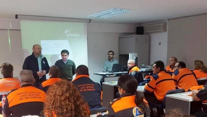 Castilla La Mancha forma a más de 30 voluntarios de Protección civil en riesgo eléctrico