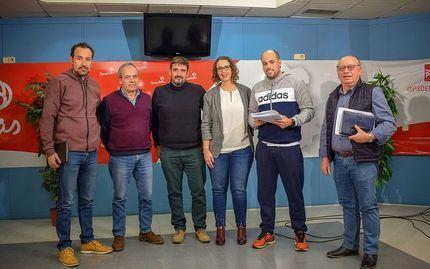 El PSOE de Guadalajara estudia con los bomberos soluciones a los problemas en el Consorcio Provincial de Extinción de Incendios