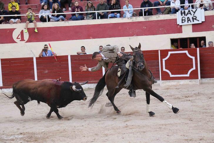 Pencho Solano y Daniel Galán abren la Puerta Grande de La Coqueta