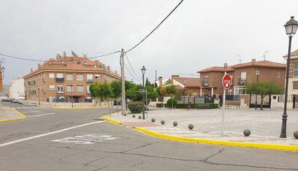 El Ayuntamiento de Yunquera de Henares elimina el punto negro del cruce del paseo de la Estación