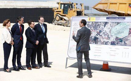 Rajoy anuncia inversiones millonarias para mejorar las comunicaciones por tren y carretera en Castilla-La Mancha