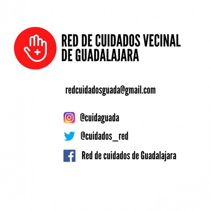 Crean por el coronavirus en Guadalajara una Red de Apoyo a personas más vulnerables