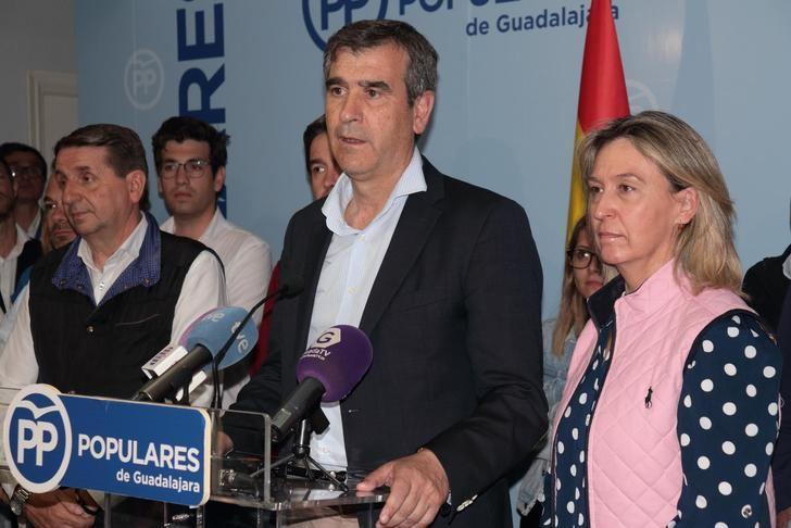 """El PP necesita sumar a Cs y Vox para seguir gobernando en Guadalajara: Román generoso... incluso """"ofrecería mi cabeza"""""""