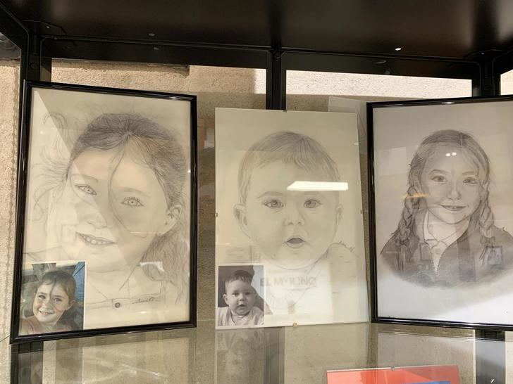 'Retratos a lápiz', de Ana Isabel Sánchez Burgueño, hasta el 10 de marzo en El Molino de Almonacid