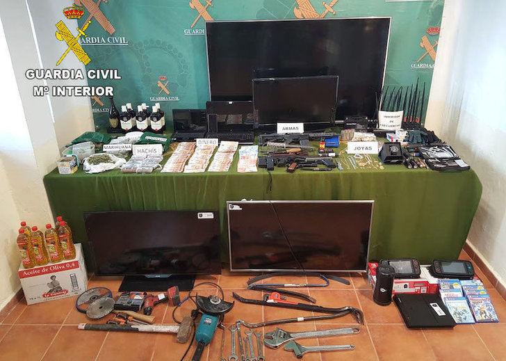 Detenidos 13 miembros de una banda que robaba en establecimientos hoteleros, también en Guadalajara