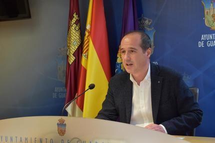 El alcalde de Guadalajara inicia una ronda de reuniones para avanzar en la recuperación económica y social posterior al COVID19