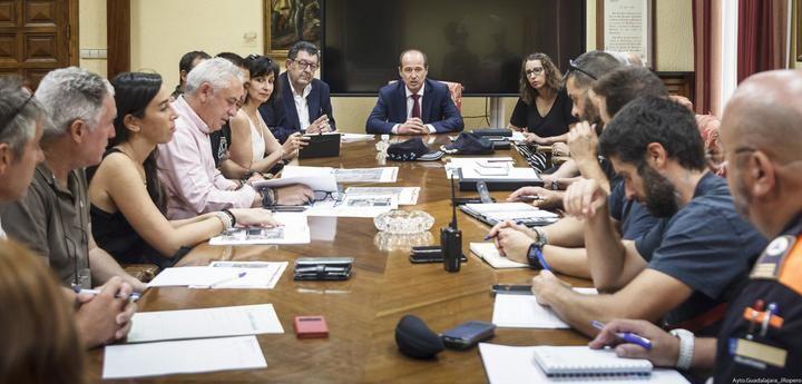 Celebrada la primera reunión técnica para preparar el dispositivo de movilidad de la Vuelta Ciclista a España en su tramo de Guadalajara