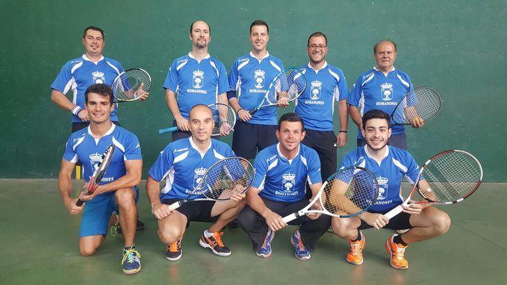 Clasificaciones J8 Liga Frontenis Guadalajara