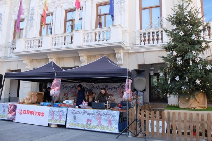 """El Ayuntamiento de Guadalajara participa en la iniciativa """"Calle Mayor Solidaria"""""""