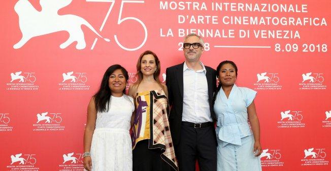 La película 'Roma', de Alfonso Cuarón consigue el León de Oro de la Mostra de Venecia