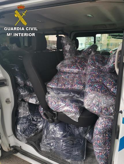 Desarticulada por la Guardia Civil una experimentada banda en cometer robos en camiones en Toledo y Madrid