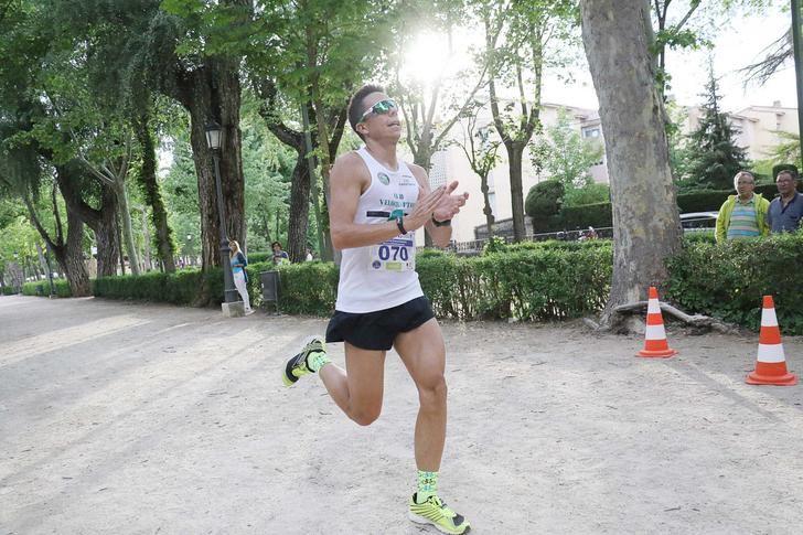 Javier Rosado y Sara Llamas vencen en la XV Carrera Ciudad del Doncel