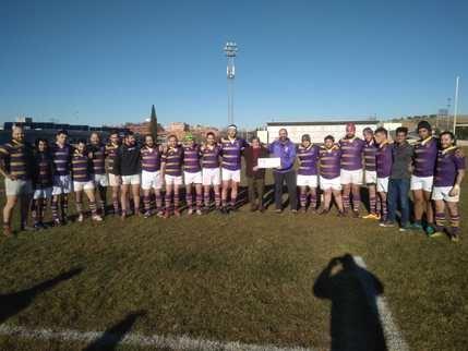 El Rugby Guadalajara se impone 48-19 a Arquitectura en un divertido partido