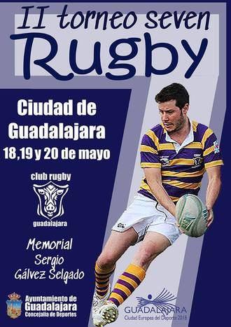 Este fin de semana en Guadalajara, II Tornero de Rugby Seven Guadalajara-Memorial Sergio Gálvez