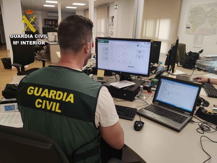 La Guardia Civil investiga a una persona por simulación de delito en Sacedón