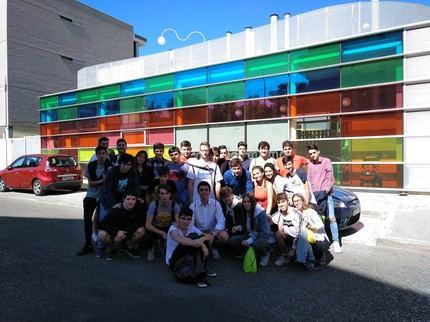 Los alumnos del Colegio Salesiano celebran la Semana Internacional de la Arquitectura