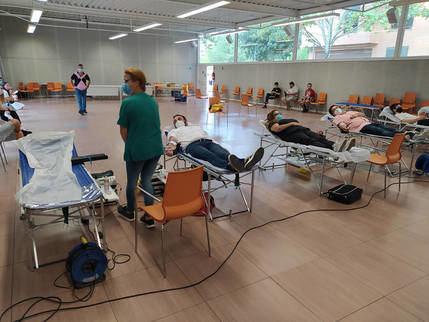 El Ayuntamiento de Azuqueca cede el Centro de Ocio Río Henares para una campaña de extracción de sangre