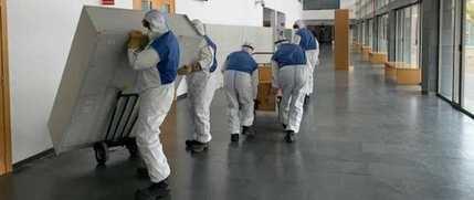 Al menos 610 profesionales del Sescam se encuentran contagiados por coronavirus