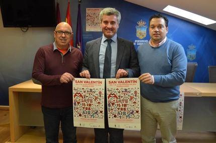 """Arranca en Guadalajara la campaña de dinamización comercial """"San Valentín 2019. Premios con Corazón"""""""