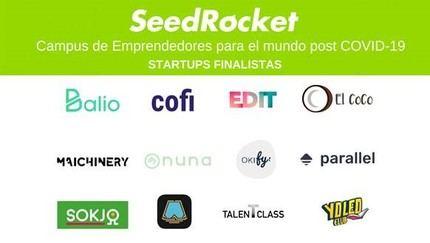 SeedRocket presenta 12 startups que aspiran a convertirse en las grandes soluciones del mundo post COVID-19
