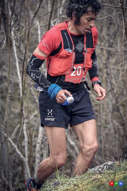 Sergio Tejero, estratosférico, vence en la Euskal Trail