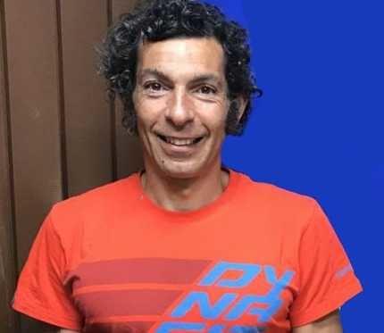 Sergio Tejero, tercero en 10.000 metros lisos master 40-45