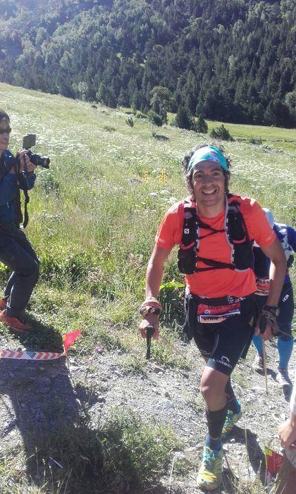 Sergio Tejero, segundo en la Nafarroa Xtreme