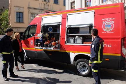 El Ayuntamiento de Guadalajara incorpora en su Servicio de Incendios un vehículo especializado en excarcelaciones