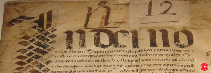 El Archivo Municipal de Sigüenza, guardián de su Historia