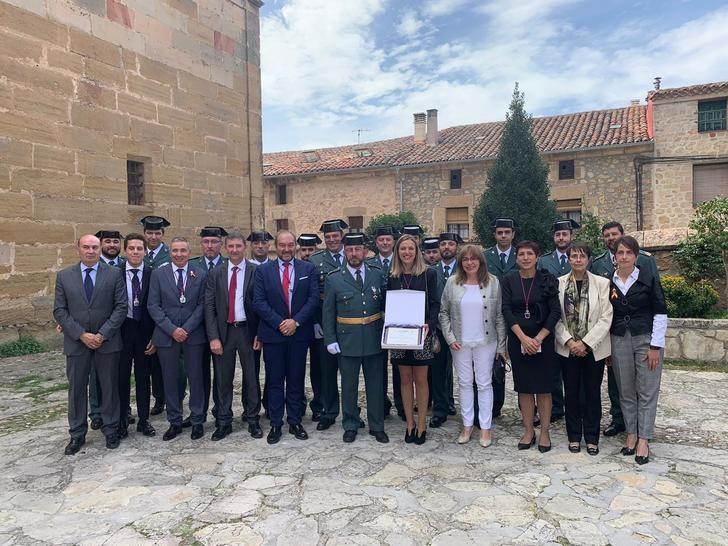El Ayuntamiento de Sigüenza ensalza la labor de la Guardia Civil