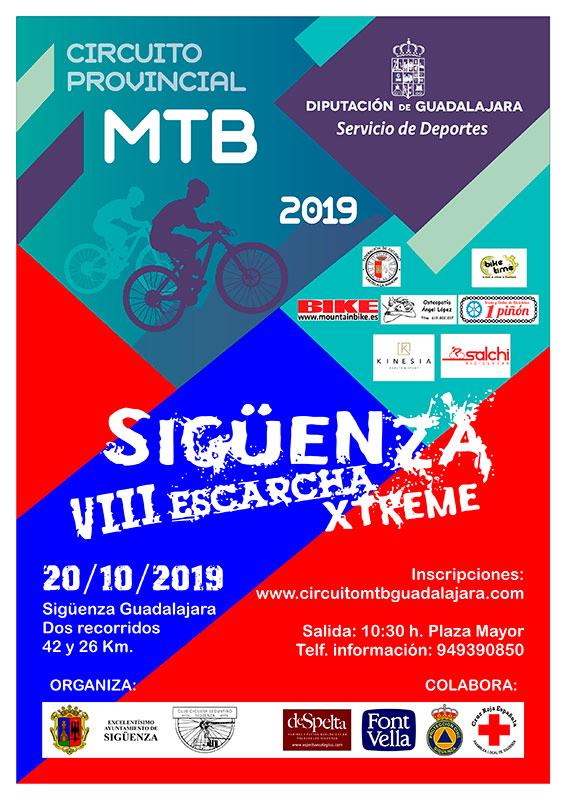 El domingo 20, VIII Escarcha Xtreme, penúltima prueba del Circuito MTB Diputación de Guadalajara