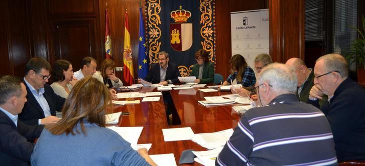 La tasa de siniestralidad disminuye un 3,1% en los primeros nueve meses del año entre los trabajadores asalariados de Guadalajara
