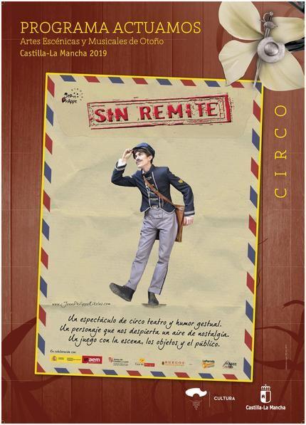 A la venta las entradas para el espectáculo de teatro circo 'Sin Remite' en Azuqueca