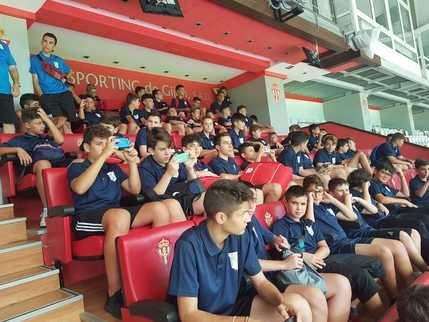 El Sporting Cabanillas se lleva a sus chavales hasta Asturias
