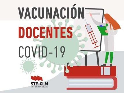 VACUNACIÓN COVID-19: Continúan las dudas sobre la vacunación de docentes en CLM