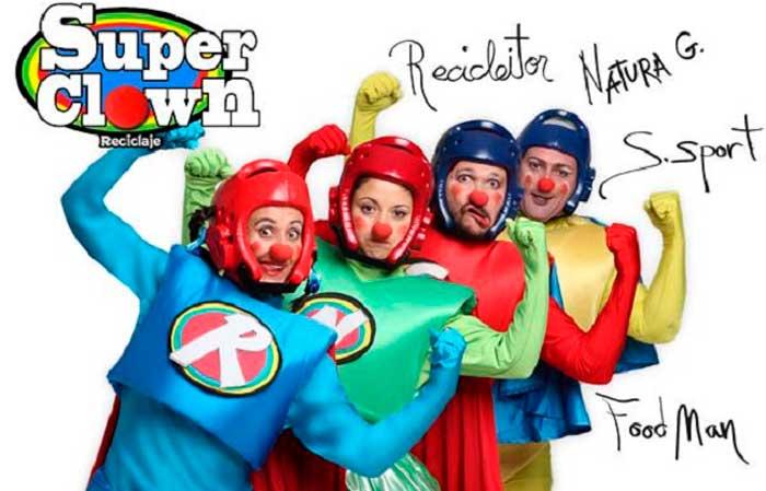 SUPER CLOWN este domingo 27 de octubre en Teatro Moderno de Guadalajara